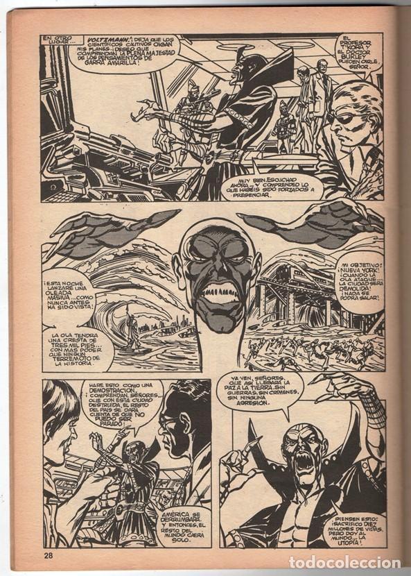 Cómics: 1979 MUNDI COMICS V1 # 37 NOVA STAN LEE MARV WOLFMAN CARMINE INFANTINO LA GARRA AMARILLA 38 PAG - Foto 5 - 263214955