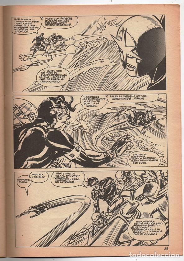 Cómics: 1979 MUNDI COMICS V1 # 37 NOVA STAN LEE MARV WOLFMAN CARMINE INFANTINO LA GARRA AMARILLA 38 PAG - Foto 6 - 263214955