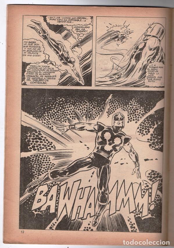 Cómics: 1979 MUNDI COMICS V1 # 38 NOVA STAN LEE MARV WOLFMAN CARMINE INFANTINO EL OSCURECEDOR 38 PAG - Foto 3 - 263217465