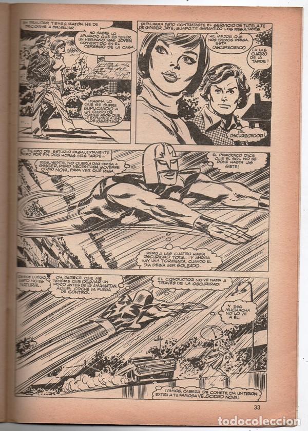 Cómics: 1979 MUNDI COMICS V1 # 38 NOVA STAN LEE MARV WOLFMAN CARMINE INFANTINO EL OSCURECEDOR 38 PAG - Foto 5 - 263217465