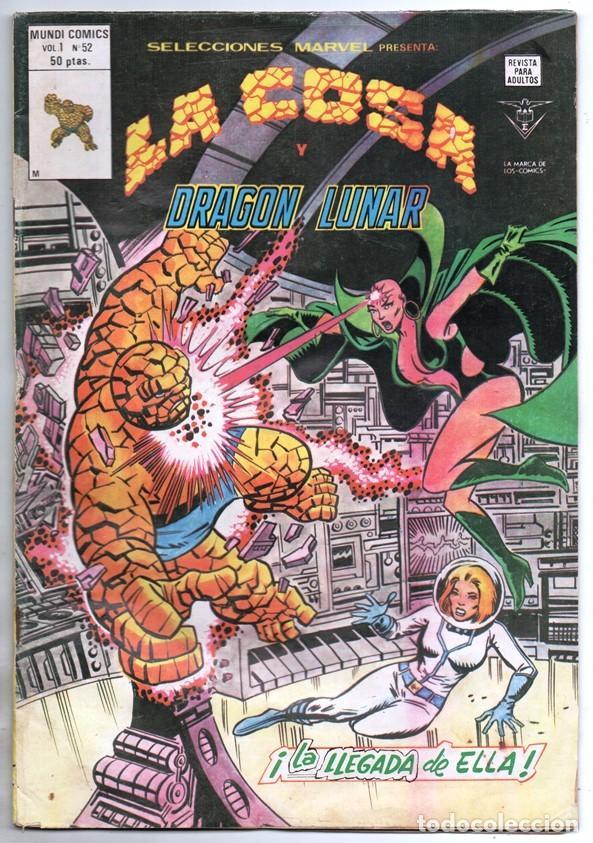 1980 MUNDI COMICS V1 # 52 LA COSA LA MOLE STAN LEE JACK KIRBY MARK GRUENWALD BINGHAM 38 PAG (Tebeos y Comics - Vértice - Super Héroes)