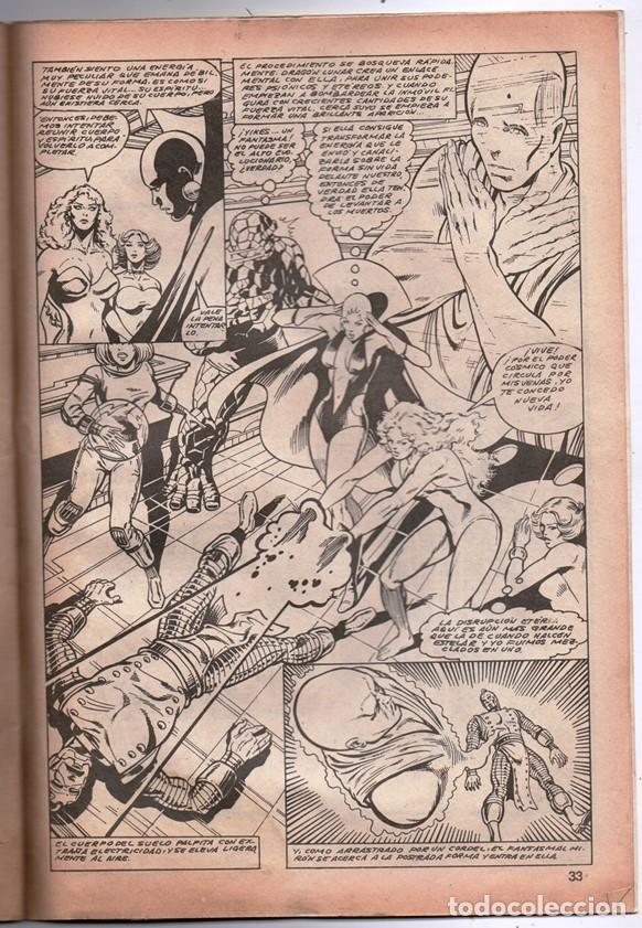 Cómics: 1980 MUNDI COMICS V1 # 52 LA COSA LA MOLE STAN LEE JACK KIRBY MARK GRUENWALD BINGHAM 38 PAG - Foto 4 - 263217885