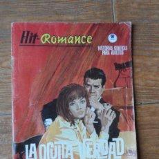 Cómics: HIT ROMANCE Nº 13 LA OCULTA VERDAD EDICIONES VERTICE. Lote 263219940