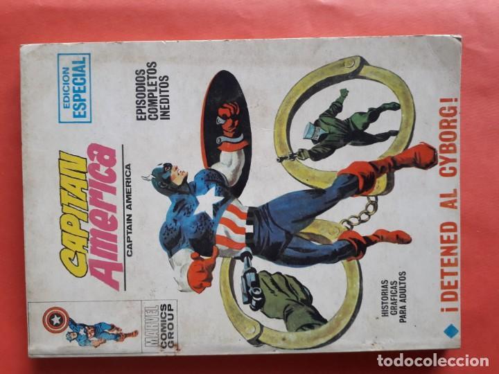 CAPITAN AMERICA N-10 (Tebeos y Comics - Vértice - Vengadores)