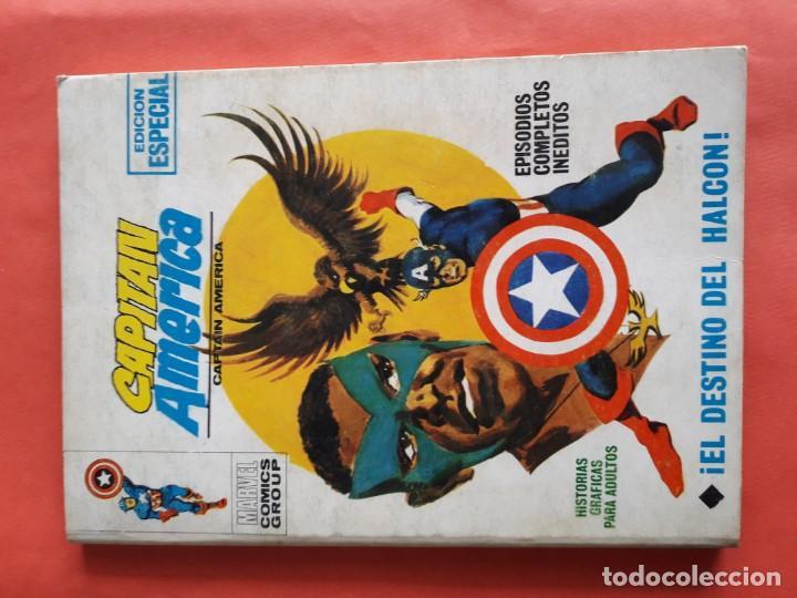 CAPITAN AMERICA N-11 BUENO (Tebeos y Comics - Vértice - Vengadores)