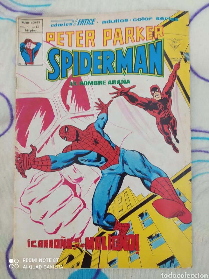 SPIDERMAN A COLOR. EDICIONES VÉRTICE. VOL. 1,N°13 (Tebeos y Comics - Vértice - Super Héroes)