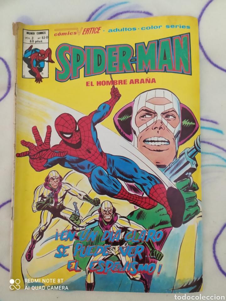 SPIDERMAN, COMIC A TODO COLOR. EDICIONES VÉRTICE. VOL. 3.N° 63D AÑO 1979 (Tebeos y Comics - Vértice - Super Héroes)