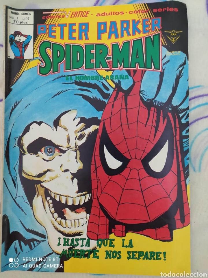 SPIDERMAN. COMIC A TODO COLOR. EDICIONES VÉRTICE. VOL. 1.N°16.AÑO 1979 (Tebeos y Comics - Vértice - Super Héroes)