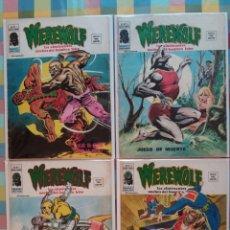 Cómics: WEREWOLF VOL.2 N°15, 16, 17, 18 -VERTICE-. Lote 263750235