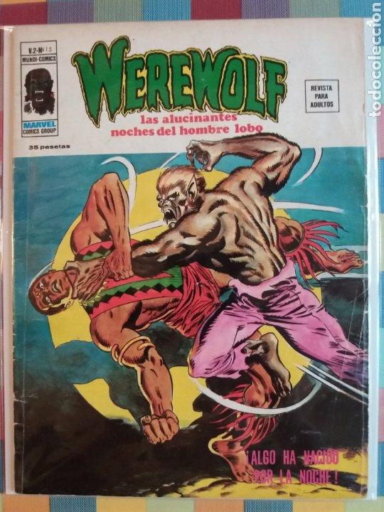 Cómics: WEREWOLF VOL.2 N°15, 16, 17, 18 -Vertice- - Foto 2 - 263750235