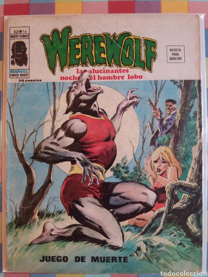 Cómics: WEREWOLF VOL.2 N°15, 16, 17, 18 -Vertice- - Foto 3 - 263750235