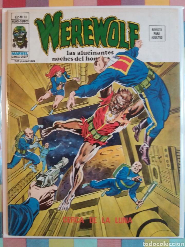 Cómics: WEREWOLF VOL.2 N°15, 16, 17, 18 -Vertice- - Foto 5 - 263750235