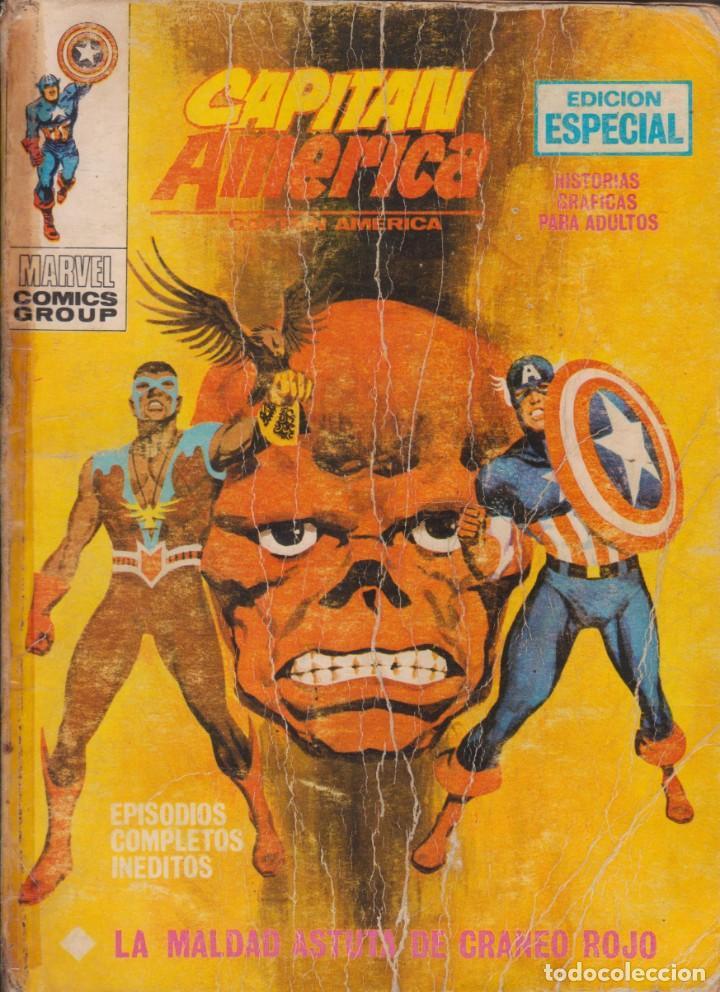 "COMIC MARVEL "" CAPITÁN AMÉRICA "" Nº 21 ED. VÉRTICE ""TACO"" (Tebeos y Comics - Vértice - Thor)"