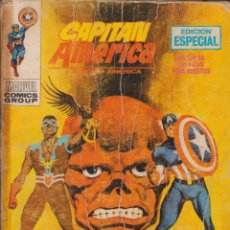 "Cómics: COMIC MARVEL "" CAPITÁN AMÉRICA "" Nº 21 ED. VÉRTICE ""TACO"". Lote 263807050"