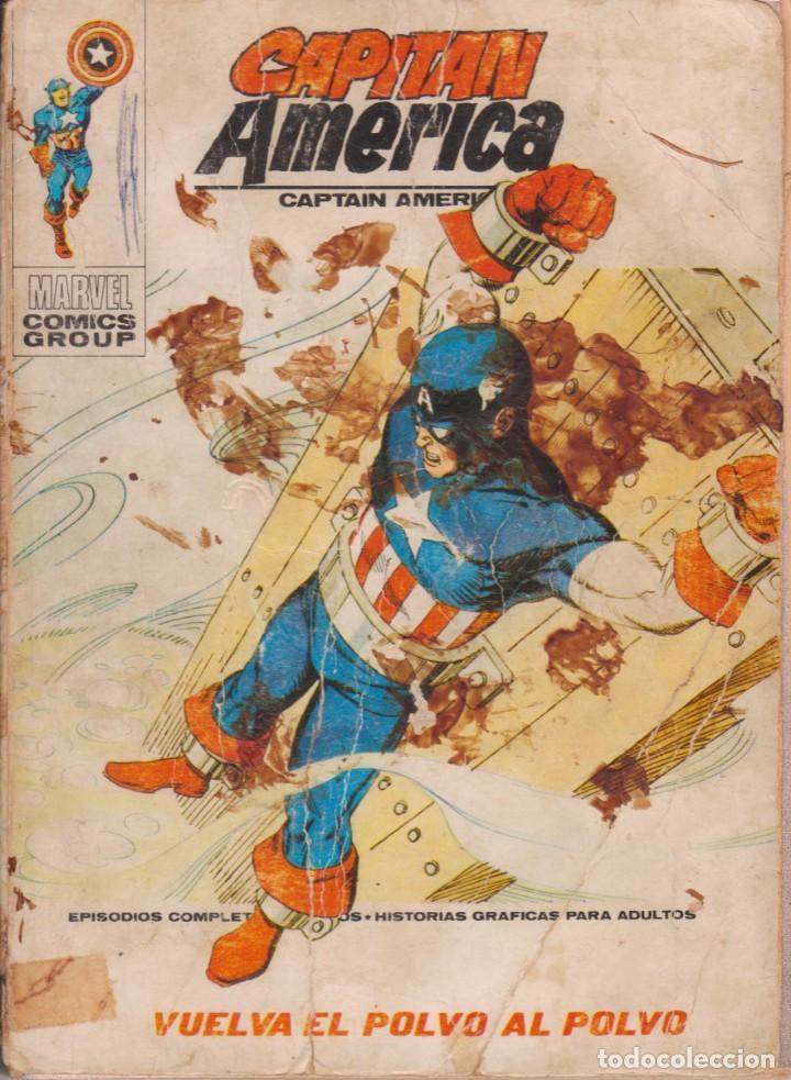 "COMIC MARVEL "" CAPITÁN AMÉRICA "" Nº 34 ED. VÉRTICE ""TACO"" (Tebeos y Comics - Vértice - Thor)"