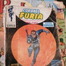 Cómics: CÓMIC CORONEL FURIA / NICK FURY. Nº 2. EL ORIGEN DEL ESCUDO - VÉRTICE. Lote 263937085