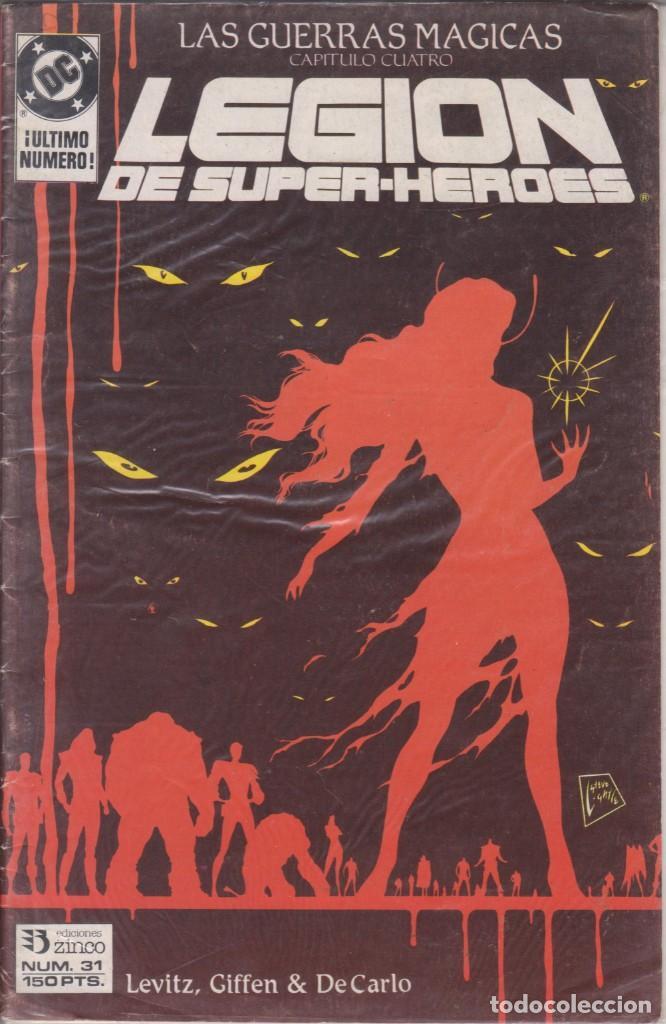 CÓMIC ` LEGIÓN DE SUPER-HEROES ´ Nº 31 ED. ZINCO FRMTO. U.S.A. 34 PGS. 1988 (Tebeos y Comics - Vértice - Thor)