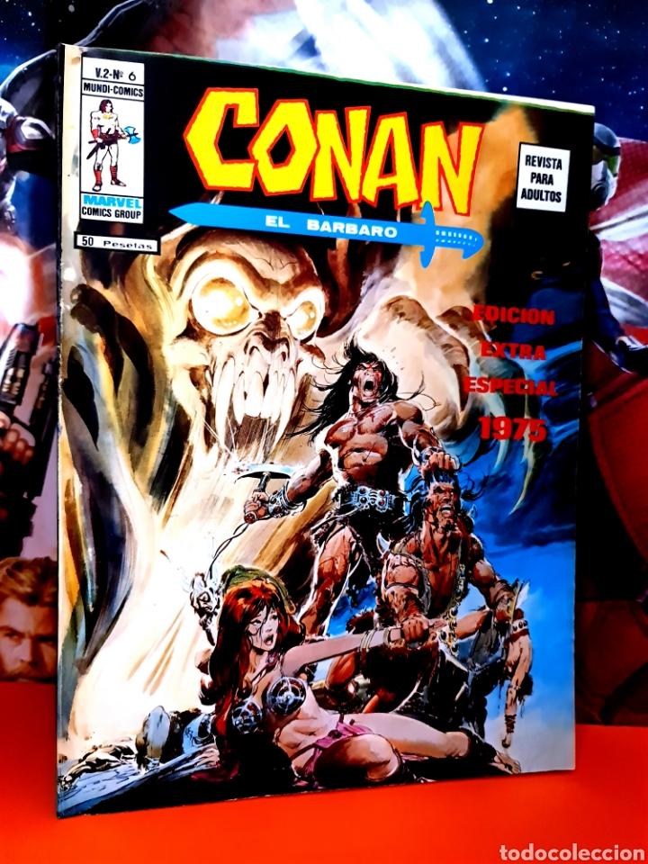 DE KIOSCO CONAN 6 VOL II MUNDI COMICS MARVEL EDICIONES VERTICE (Tebeos y Comics - Vértice - Conan)