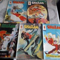 Cómics: SHAZAM N-2-5-8-9-12 COMO SE VE EN LAS FOTOS. Lote 264444254