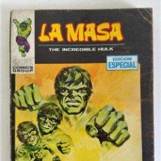 Comics : LA MASA VOL.1 Nº 6 - LA MASA NO SE RINDE ~ VÉRTICE (1970). Lote 264541884