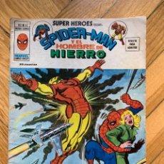 Cómics: SUPER HÉROES VOLÚMEN 2 Nº 62: SPIDERMAN Y EL HOMBRE DE HIERRO. Lote 265105384