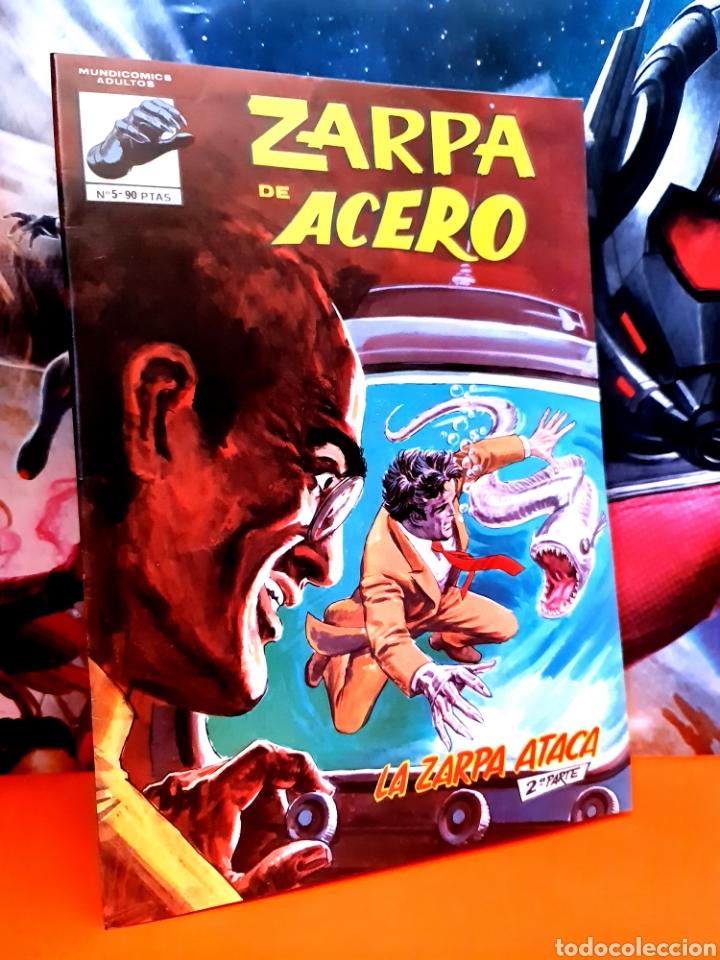 DE KIOSCO ZARPA DE ACERO 5 MUNDI COMICS EDICIONES VERTICE (Tebeos y Comics - Vértice - Fleetway)