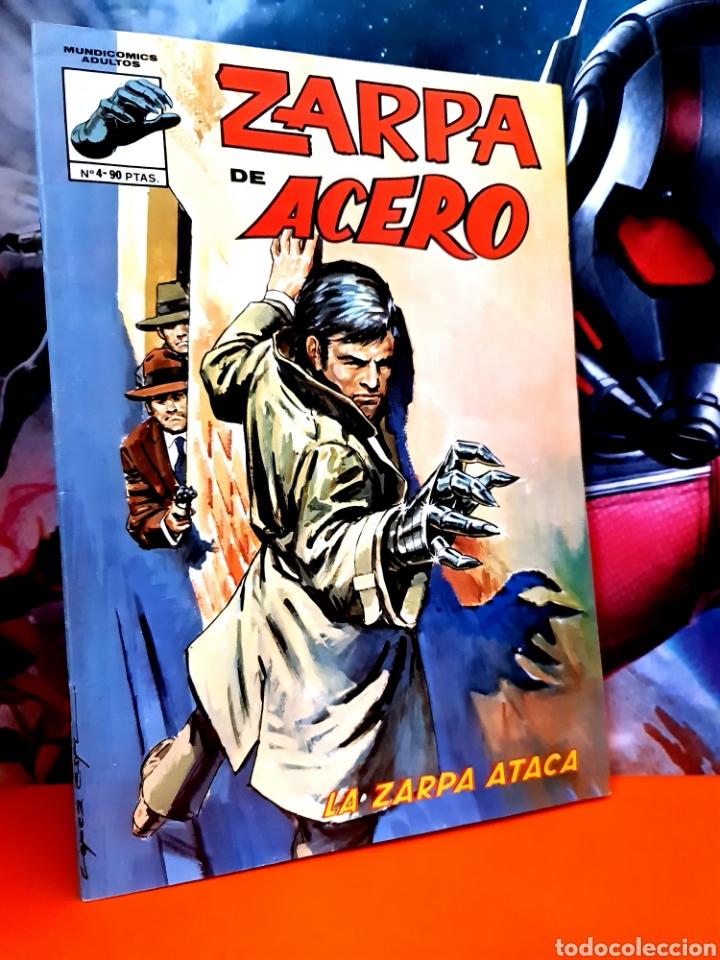 EXCELENTE ESTADO ZARPA DE ACERO 4 MUNDI COMICS EDICIONES VERTICE (Tebeos y Comics - Vértice - Fleetway)
