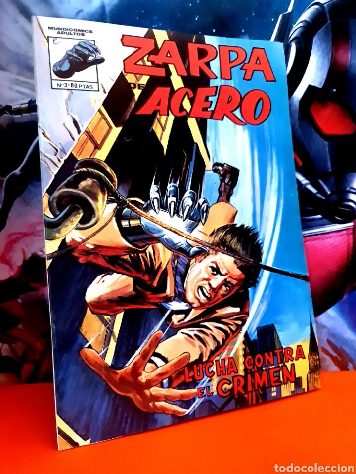 DE KIOSCO ZARPA DE ACERO 3 MUNDI COMICS EDICIONES VERTICE (Tebeos y Comics - Vértice - Fleetway)