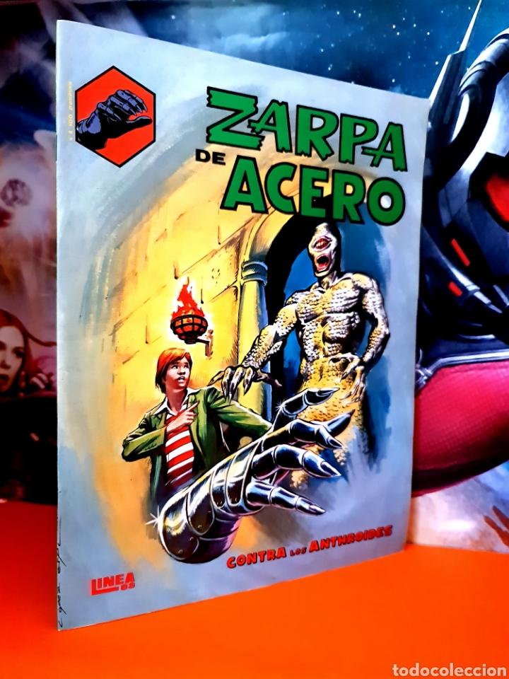 DE KIOSCO ZARPA DE ACERO 4 LINEA 83 SURCO MUNDI COMICS VERTICE (Tebeos y Comics - Vértice - Fleetway)