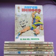 Cómics: SUPER HEROES VERTICE TACO ¡¡¡¡BUEN ESTADO!!!! COLECCION COMPLETA. Lote 265843244