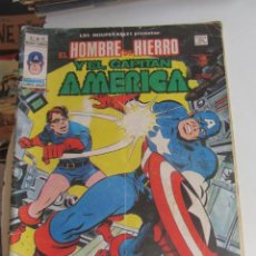 Comics: LOS INSUPERABLES HOMBRE DE HIERRO CAPITAN AMERICA V.1 Nº 15 REGRESO DE LA MUERTE VERTICE ARX17. Lote 265962813