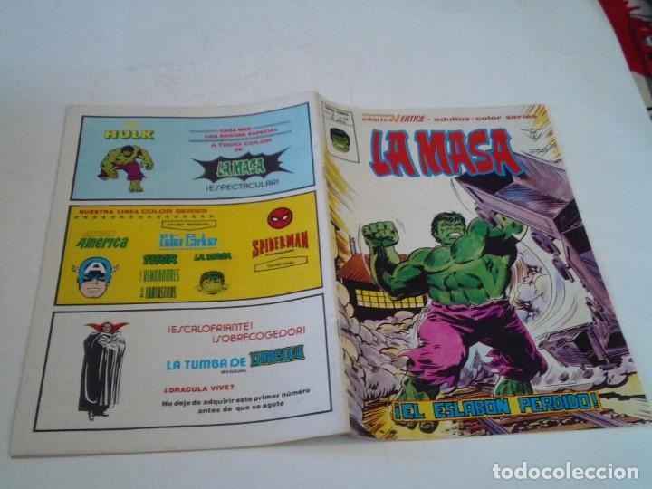Cómics: LA MASA - VERTICE - VOLUMEN 3 - NUMERO 39 - MUY BUEN ESTADO - PRIMERA APARICIÓN DE LOBEZNO- CJ 136 - Foto 6 - 266230253