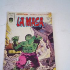 Cómics: LA MASA - VERTICE - VOLUMEN 3 - NUMERO 39 - PRIMERA APIRICION LOBEZNO- GORBAUD - CJ 136. Lote 266230493