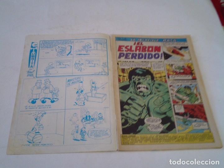 Cómics: LA MASA - VERTICE - VOLUMEN 3 - NUMERO 39 - PRIMERA APIRICION LOBEZNO- GORBAUD - CJ 136 - Foto 3 - 266230493
