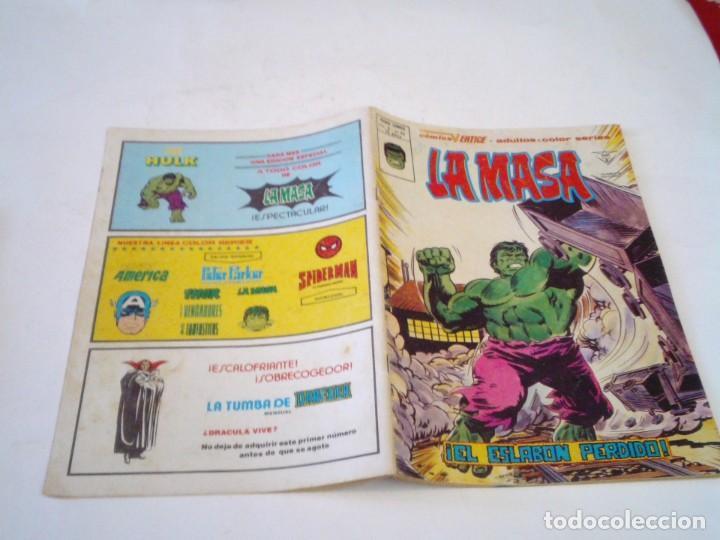 Cómics: LA MASA - VERTICE - VOLUMEN 3 - NUMERO 39 - PRIMERA APIRICION LOBEZNO- GORBAUD - CJ 136 - Foto 7 - 266230493