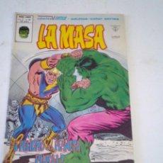 Cómics: LA MASA - VERTICE - VOLUMEN 3 - NUMERO 38 - MUY BUEN ESTDO - GORBAUD - CJ 136. Lote 266231253