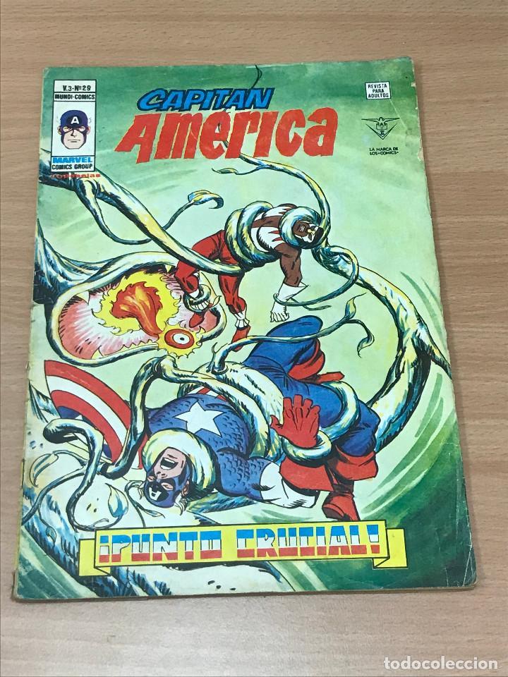 CAPITAN AMERICA. V.3 Nº 29. PUNTO CRUCIAL (Tebeos y Comics - Vértice - Capitán América)