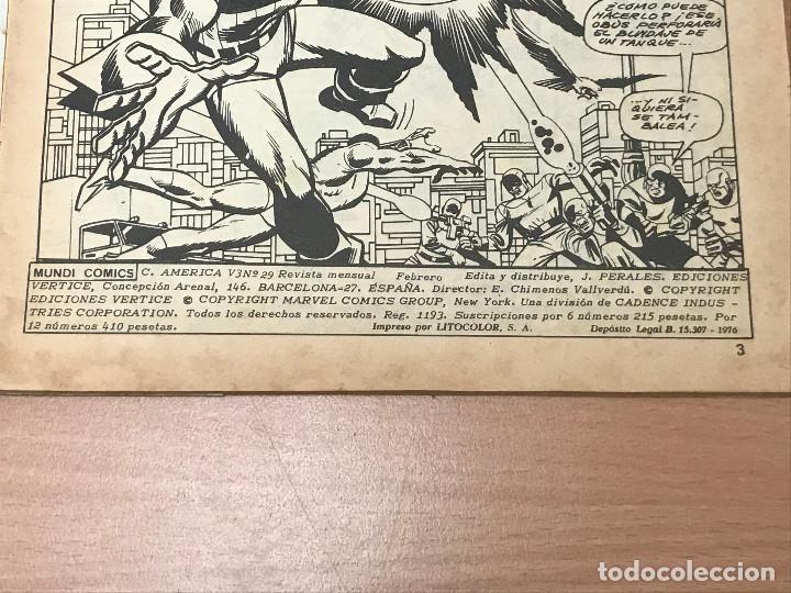 Cómics: CAPITAN AMERICA. V.3 Nº 29. PUNTO CRUCIAL - Foto 3 - 266544923