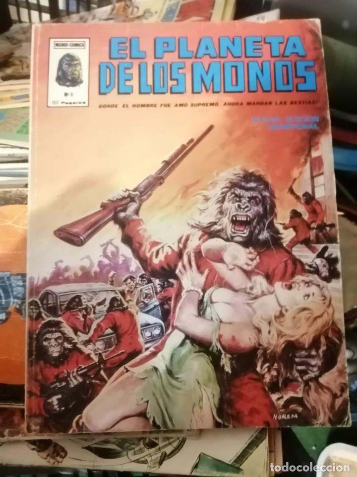 EL PLANETA DE LOS MONOS VERTICE VOL. 2 Nº 21 (Tebeos y Comics - Vértice - Otros)