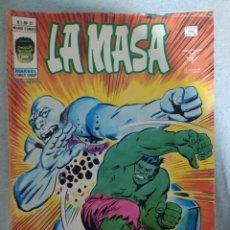 Cómics: LA MASA. VALE. 3.N.°32.MARVEL- VÉRTICE. 1976.COMIC EN EXCELENTE ESTADO DE CONSERVACIÓN.. Lote 266812519