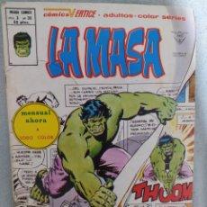 Cómics: LA MASA. VOL. 3.N.°36. MARVEL-VERTICE. A COLOR. 1983.COMIC EN EXCELENTE ESTADO DE CONSERVACIÓN.. Lote 266812844