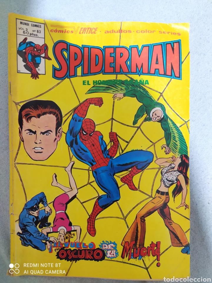 SPIDERMAN. VOL. 3 N. ° 63. MARVEL-VERTICE. A COLOR. COMIC EN EXCELENTE ESTADO DE CONSERVACIÓN. (Tebeos y Comics - Vértice - V.3)