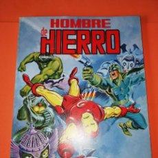 Cómics: HOMBRE DE HIERRO. RETAPADO. Nº 1,2,3,4 Y 5 EDICIONES SURCO 1983.. Lote 267002919