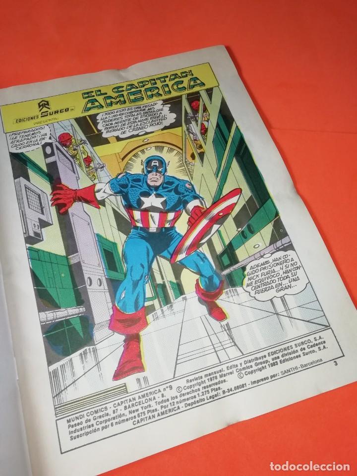 Cómics: CAPITAN AMERICA. Nº 8 . EDICIONES SURCO 1983. - Foto 5 - 267016459