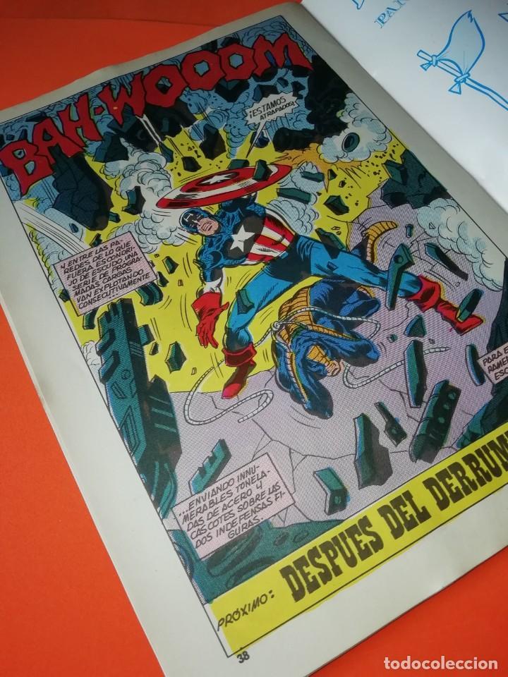 Cómics: CAPITAN AMERICA. Nº 8 . EDICIONES SURCO 1983. - Foto 8 - 267016459
