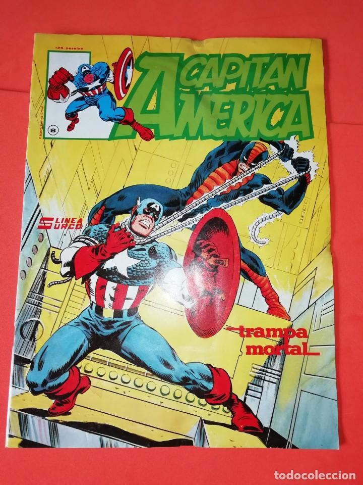 CAPITAN AMERICA. Nº 8 . EDICIONES SURCO 1983. (Tebeos y Comics - Vértice - Surco / Mundi-Comic)