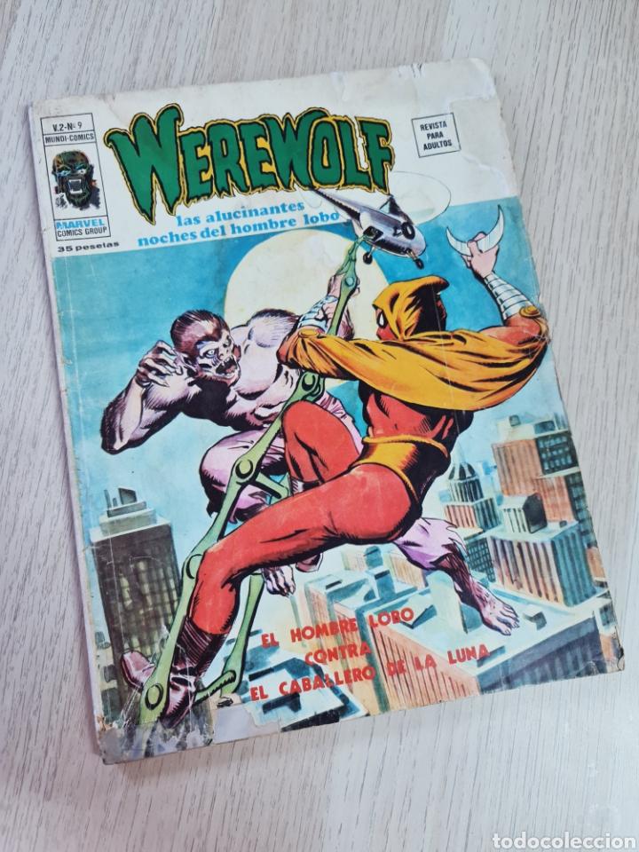 WEREWOLF 9 NORMAL CON SEÑALES DE USO VER FOTOS CELO HOMBRE LOBO MUNDI COMICS EDICIONES VERTICE (Tebeos y Comics - Vértice - Otros)