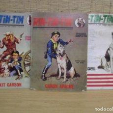 Cómics: 3 COMICS DE RIN-TIN-TIN DE EDICIONES VERTICE. Lote 267254689