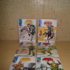 Cómics: 6 COMICS SARGENTO FURIA DEL Nº 13 AL 19 (FALTA EL 14 Y 16).. Lote 267329989