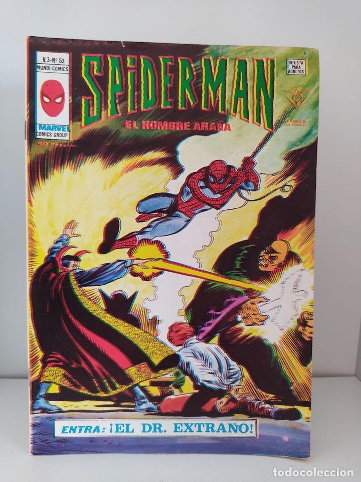 CÓMIC SPIDERMAN EL HOMBRE ARAÑA V.3 Nº 53 ENTRA: ¡EL DR. EXTRAÑO! EDICIONES VERTICE MARVEL COMICS (Tebeos y Comics - Vértice - V.3)